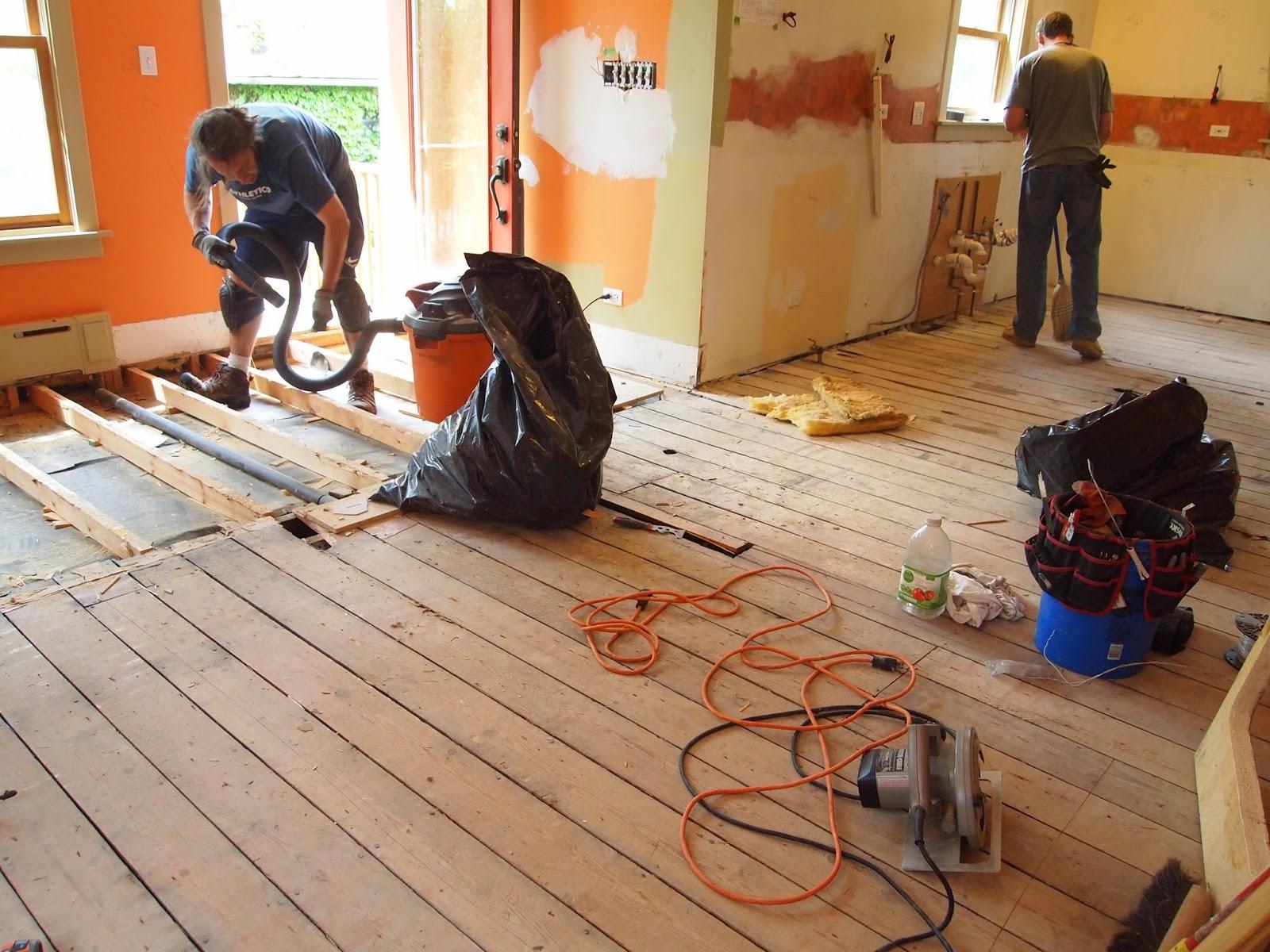 The Floor Beneath My Feet Nail It Down Installing The Bamboo Floor