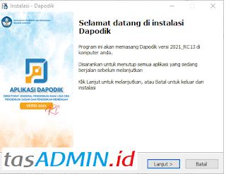 file installer dapodik