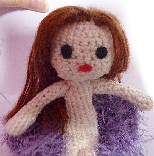 Ravelry: Doll IDA pattern by CAROcreated design | 522x517