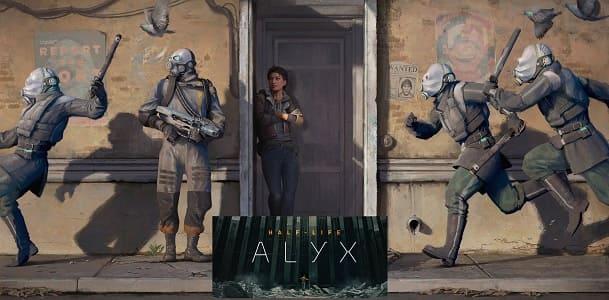 Half-Life: Alyx على الكمبيوتر