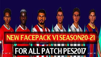 New Facepack V1 Season 2020/2021