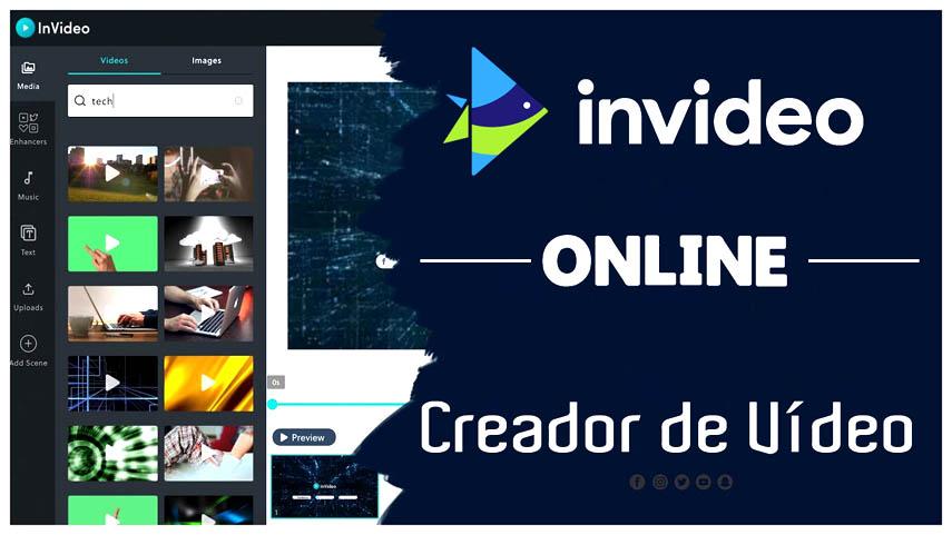 Editor gratuito en línea con un gran numero de herramientas para crear y editar vídeos profesionales.
