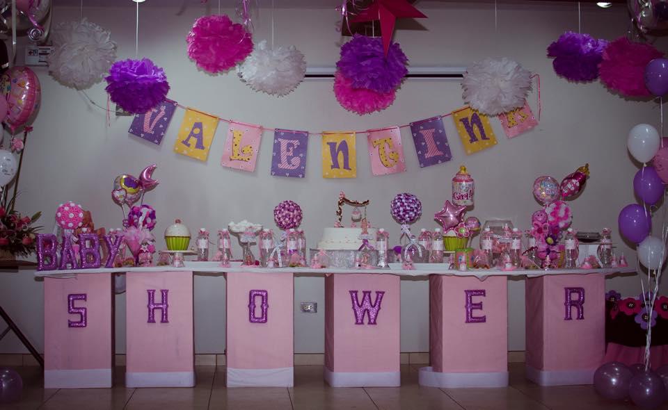 Ideas Para Baby Shower Nina Decoracion.Baby Shower Para La Nina Valentina Baby Shower