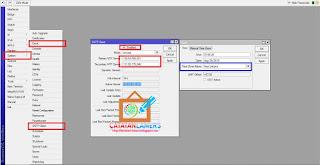 Cara Setting Waktu / NTP (Network Time Protocol) Client Pada Mikrotik