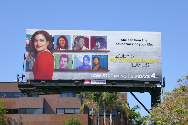 Zoeys Extraordinary Playlist season 1 billboard