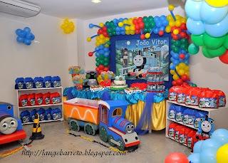 Aniversário - Tema: Thomas