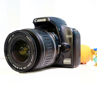 Jual Canon EOS 1000D Bekas