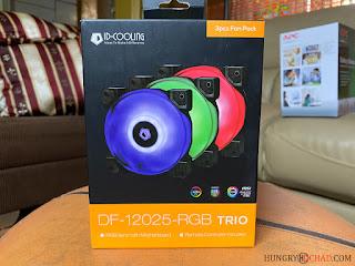 ID-Cooling DF-12025-RGB Trio Pack