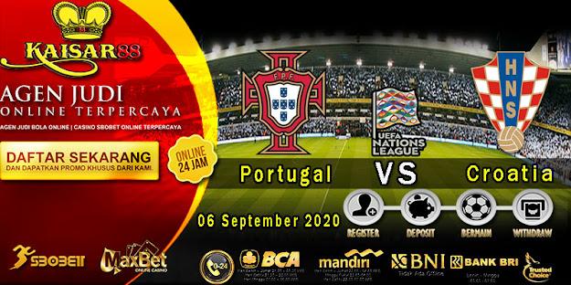 Prediksi Bola Terpercaya ajang UEFA Nations Portugal vs Croatia 06 September 2020