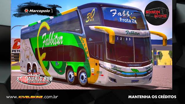PARADISO G7 1800 DD 8X2 - VIAÇÃO FABBITUR TRANSPORTE E TURISMO
