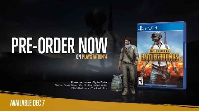 PUBG akan hadir di PS4!! Cek tanggal rilisnya dan detailnya disini