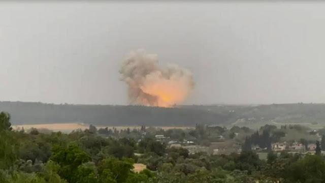 Rudal Suriah Mendarat Dekat Situs Nuklir Israel untuk Pertama Kalinya