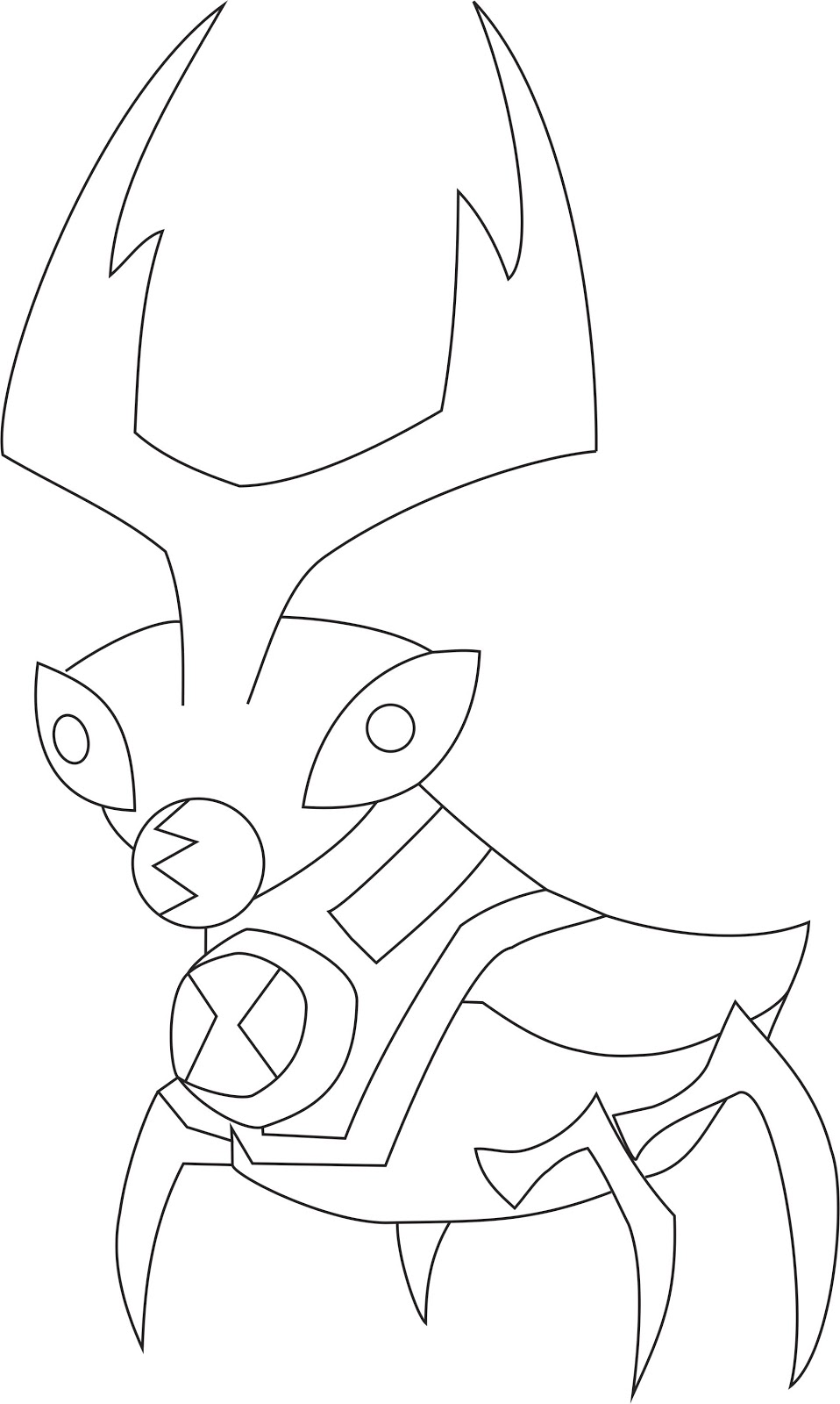 Ben 10 omniverse bloxx s free coloring pages for Ben ten omniverse coloring pages