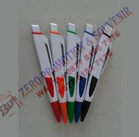 Souvenir pen Gepeng ujung warna