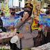 Pasca Lebaran, Kapolres Banjar Polda Jabar Kembali Mendatangi Pasar Kota Banjar Imbau Masyarakat Untuk Tetap Patuhi Prokes