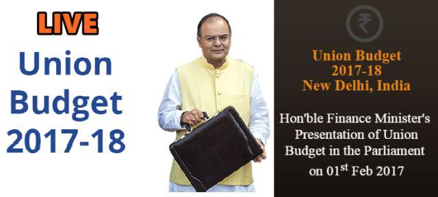 Union Budget 2017-18 Live Updates