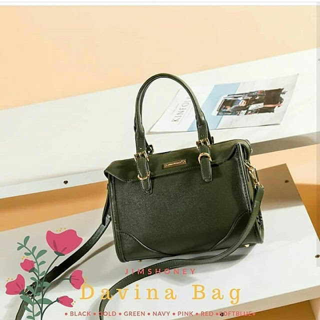 Jims Honey Davina Bag Green