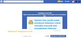 update profil fanspage facebook