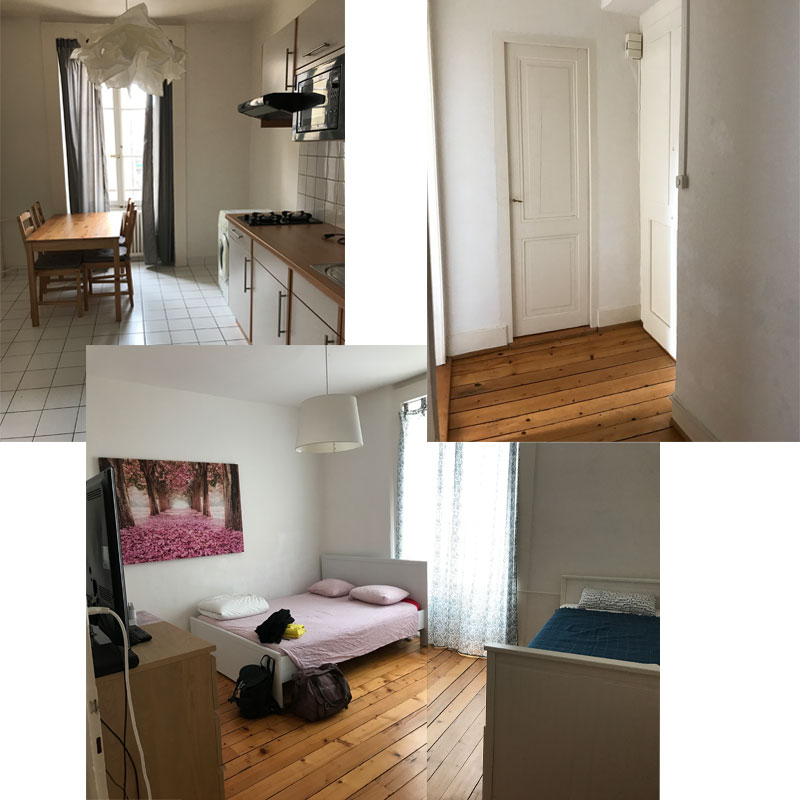 KuneCoco • Abenteuer Blindbooking • Airbnb Apartment in Genf
