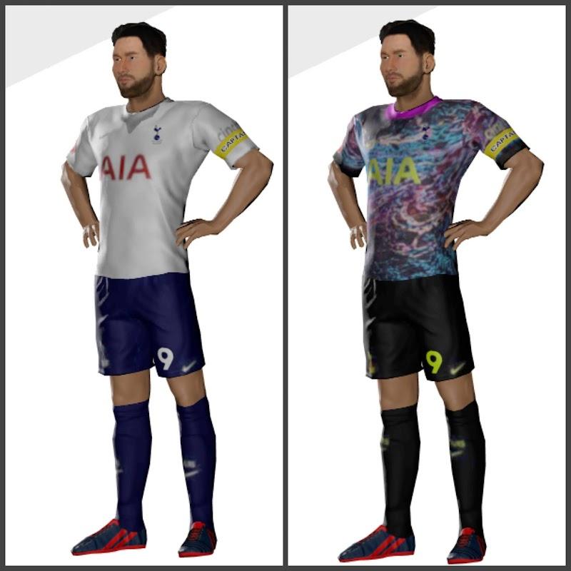 Kit Tottenham Hotspur 2022 & Logo Dream League Soccer 2021