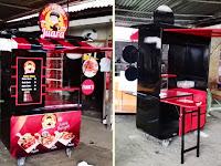 Gerobak Hot Pangsit - Gerobak makanan unik - Gerobak Jualan unik - Gerobak usaha unik Rp 5.900.000