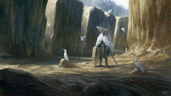Gilles Ketting artstation arte ilustrações sombrias fantasia ficção terror