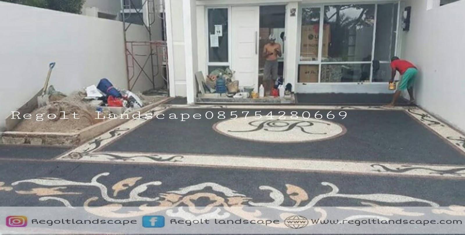 Jasa Tukang Pasang Batu Sikat Carport Di Jakarta Barat - Selatan - Utara - Timur - Pusat