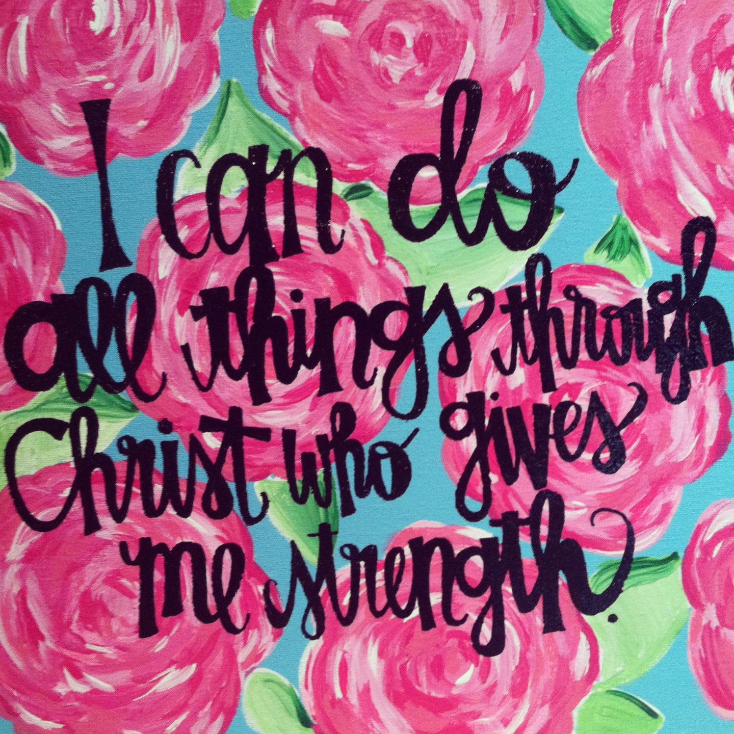 I Can Do All Things Through Christ Wallpaper: B.krafty: Bible Verse Of The Day