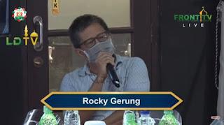 Sindiran Rocky Gerung untuk Jokowi di Acara Reuni 212: Dia Tutup Mata dari Semua Ketidakadilan Ini!