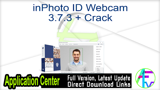 inPhoto ID Webcam 3.7.3 + Crack