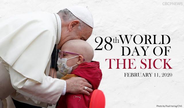 Sứ điệp Ngày Quốc Tế Bệnh Nhân lần thứ XXVIII của Đức Thánh Cha Phanxicô