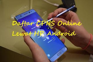 Cara Cepat Daftar CPNS 2018 Online Lewat HP Android