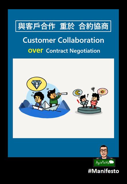 與客戶合作重於合約協商