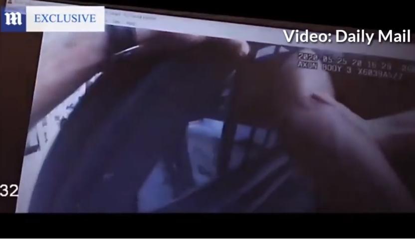 Video muestra el momento y circunstancias de la detención de Floyd / DAILY MAIL