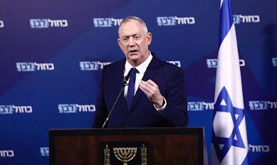 Gantz: Netanyahu se comportando como o chefe de uma máfia