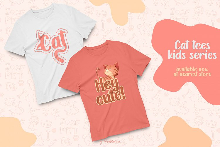 Create the Best Images for Social Media Posts With Fancy Fonts, cat shirt