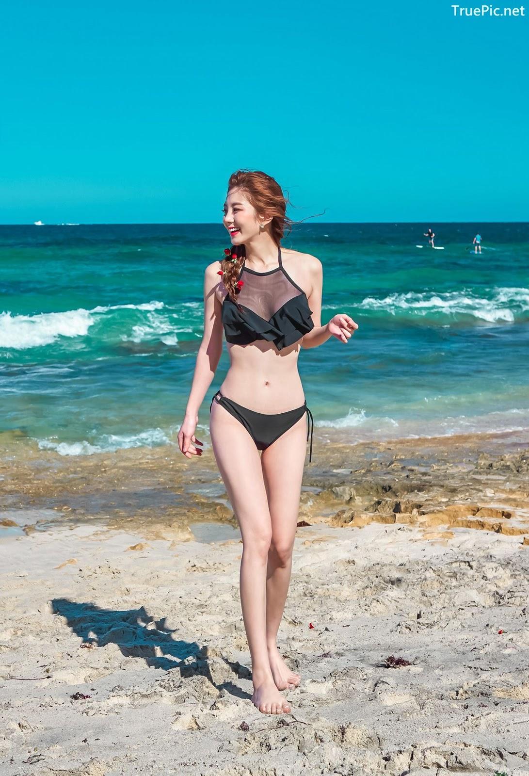 Image-Korean-Hot-Fashion-Model-Lee-Chae-Eun-Beachwear-Set-Collection-TruePic.net- Picture-6