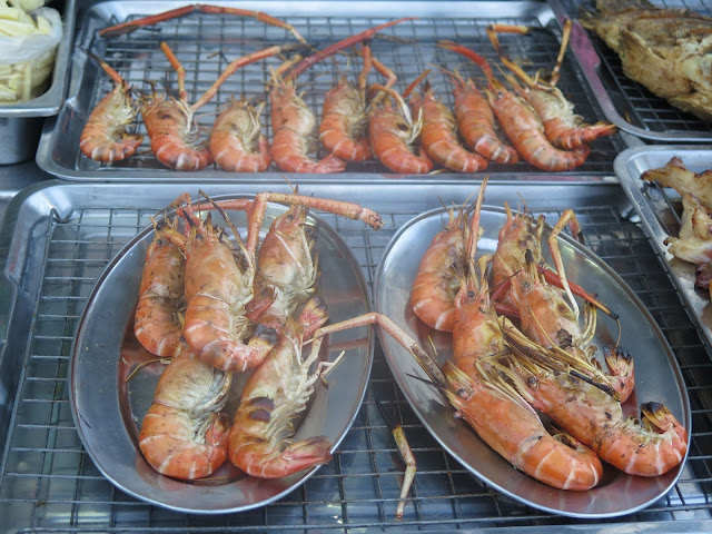 Comidas del Barrio Chino de Bangkok