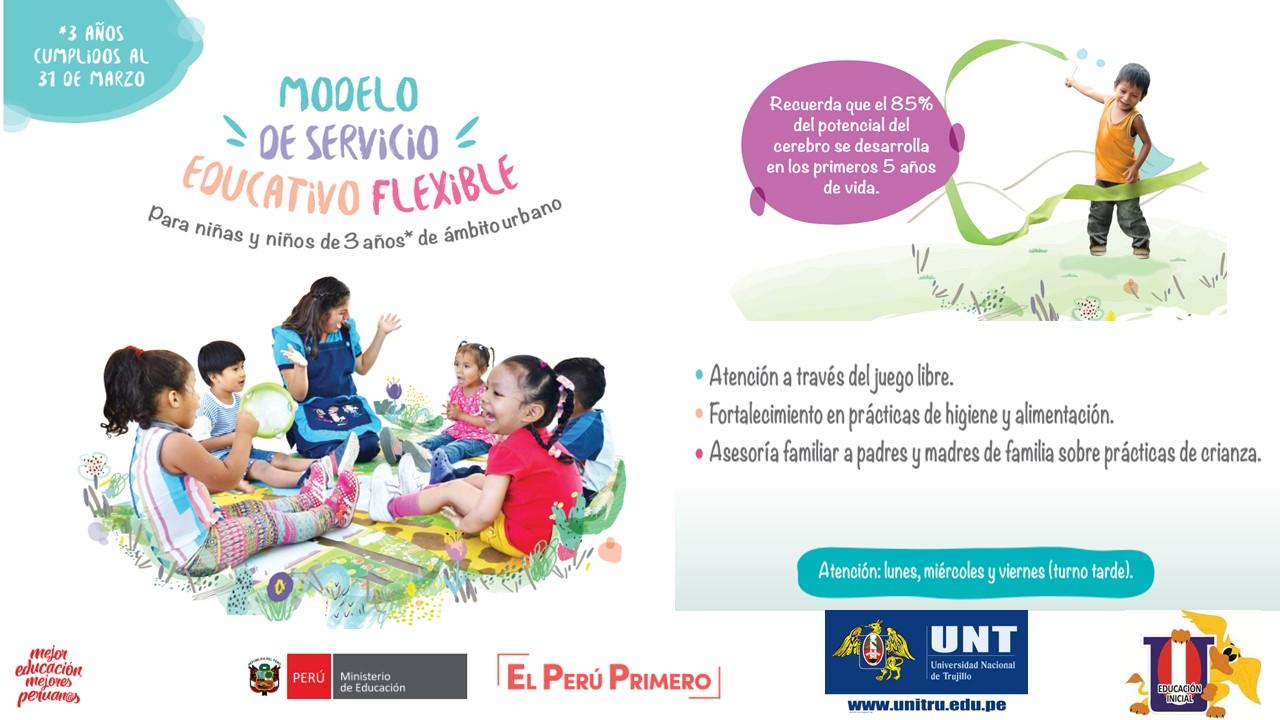 PROYECTO PILOTO MINEDU: MODELO DE SERVICIO EDUCATIVO FLEXIBLE
