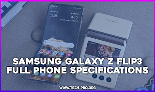 Samsung Galaxy Z Flip3  - FULL PHONE SPECIFICATIONS