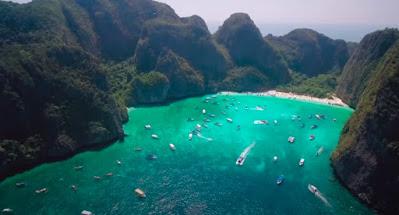 Romantic Beach In Thailand