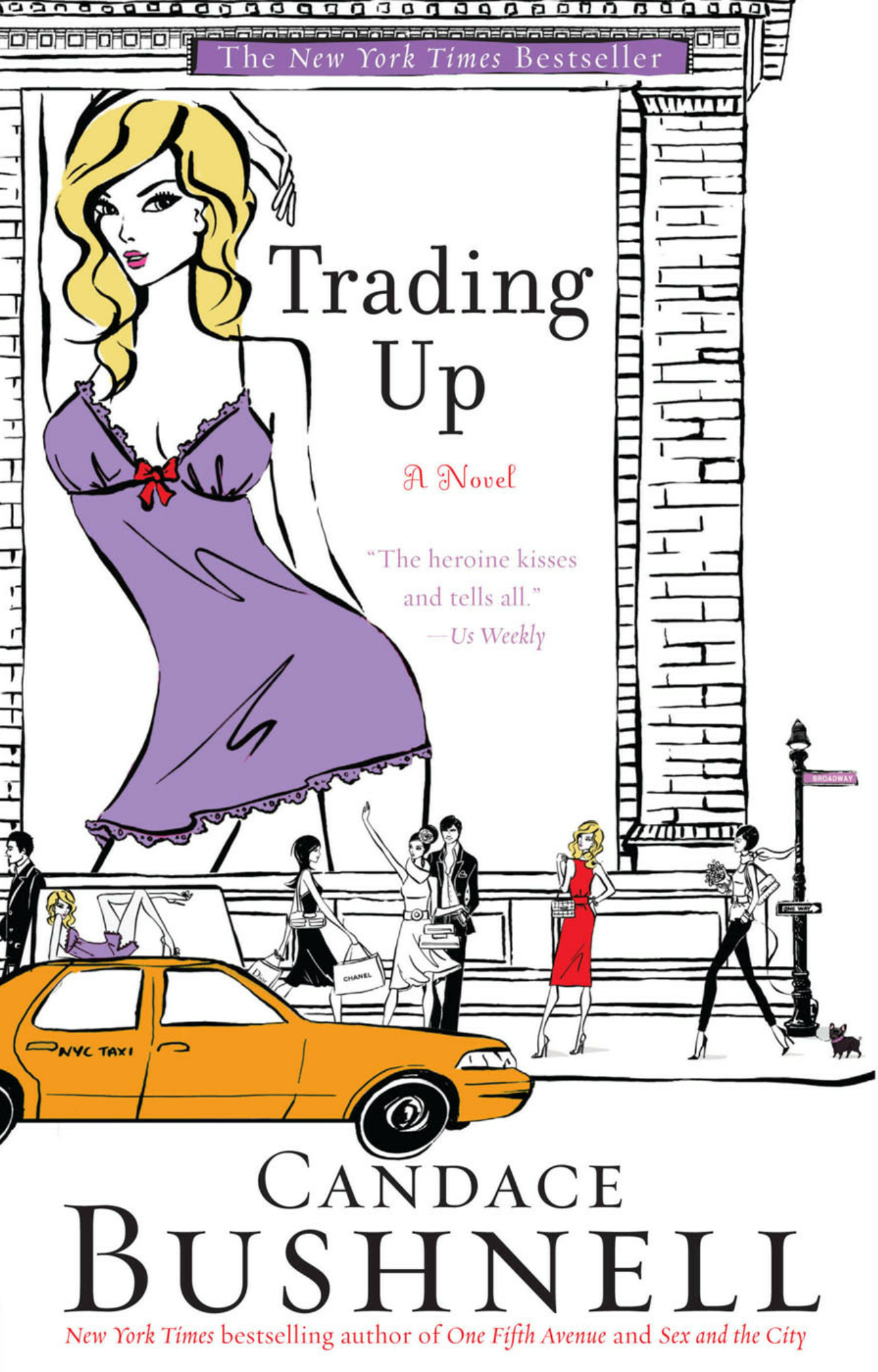 Book Sample Review - Trading Up by Candace Bushnell