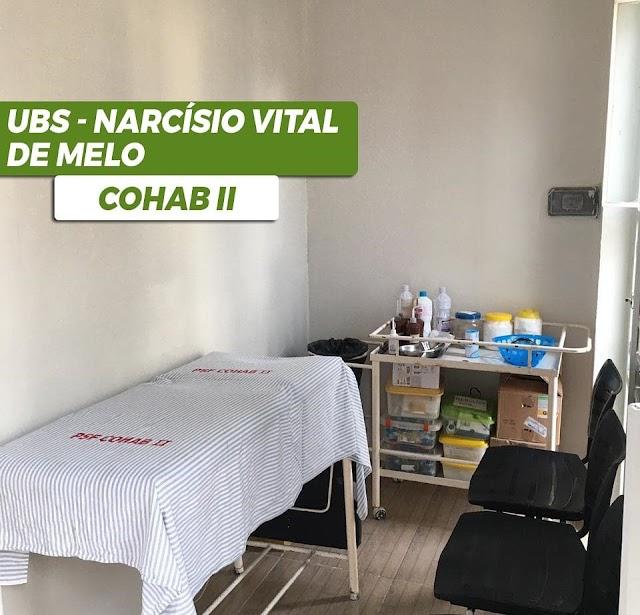 Unidade Básica de Saúde (UBS) Narcísio Vital de Melo, na Cohab II, em Belo Jardim está funcionando em novo espaço