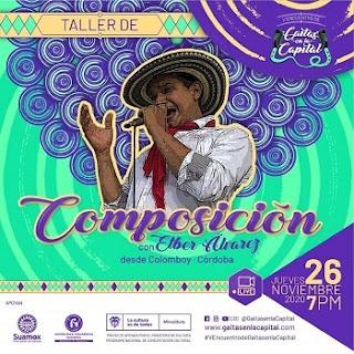 Taller de composición junto a Elber Alvarez