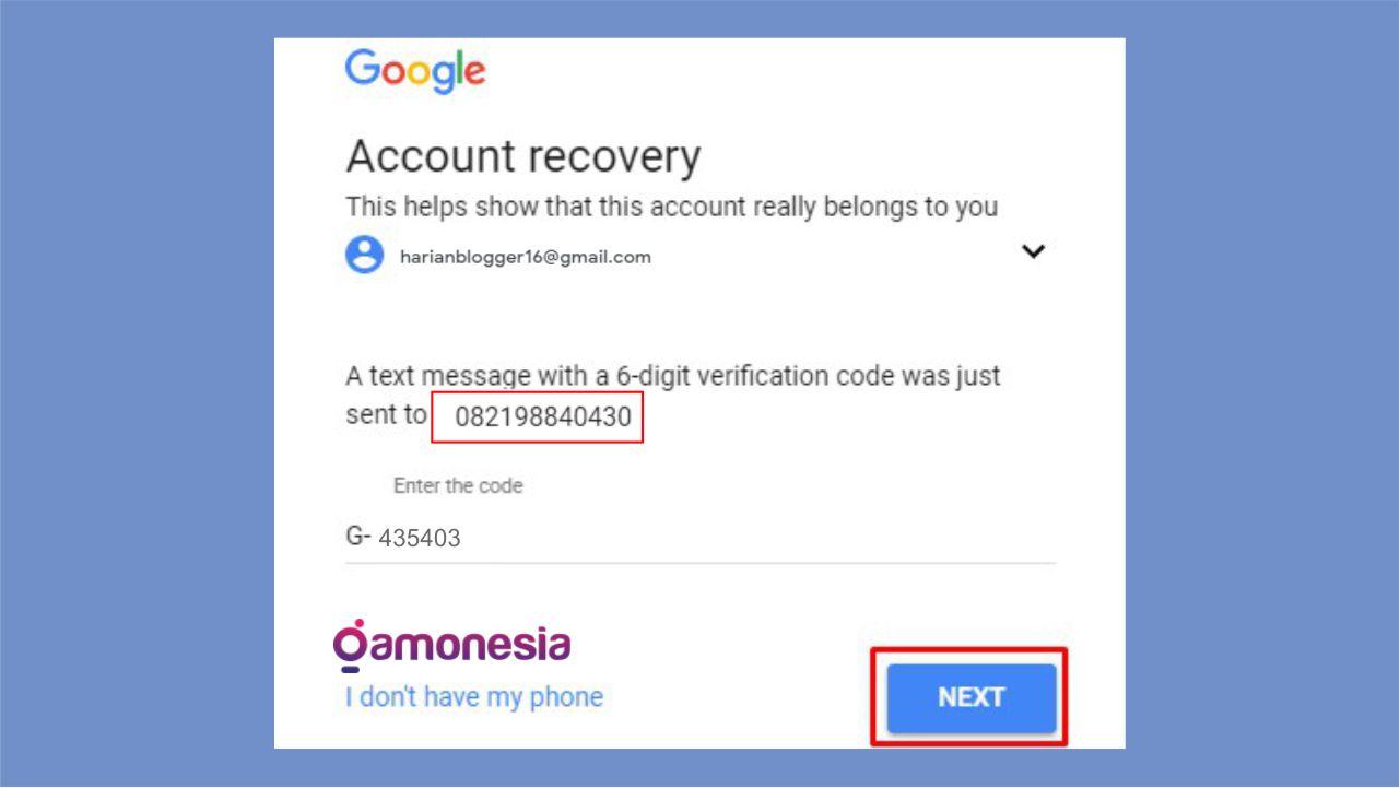 mengatasi lupa password gmail di android