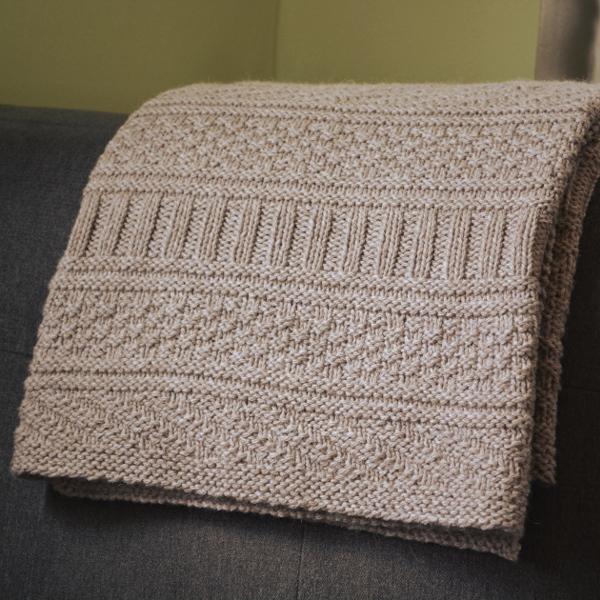 cozy birdhouse | guernsey blanket