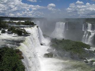 Garganta delDiablo desde Brasil