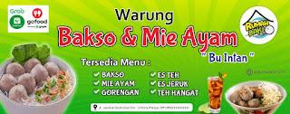Download Desain Banner Bakso dan Mie Ayam