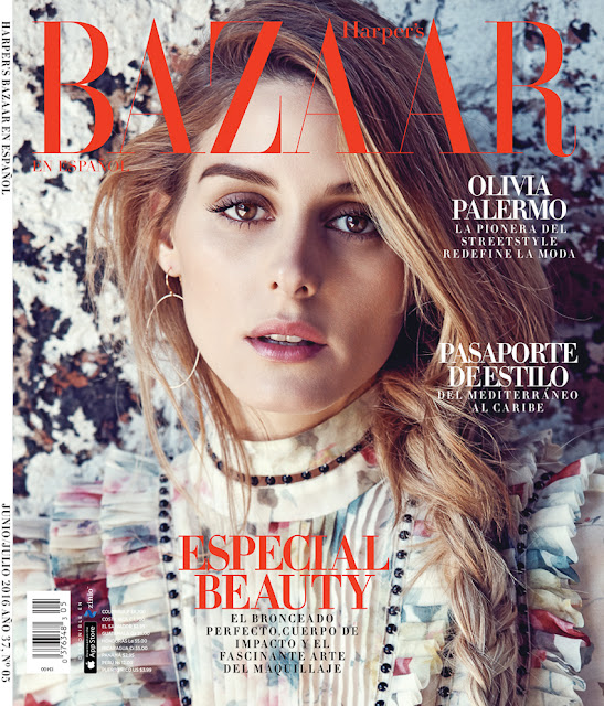 Actress, Model, @ Olivia Palermo by Diego Uchitel for Harper's Bazaar Mexico, June 2016