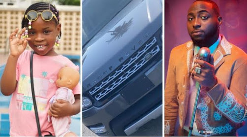 Davido Buys Range Rover For His First Daughter, Imade As Birthday Gift